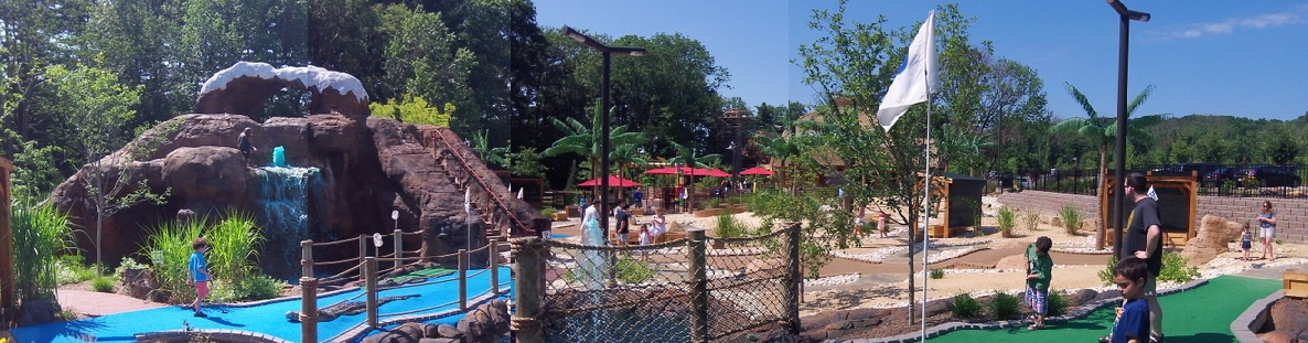 Essex County Safari Minigolf West Orange NJ