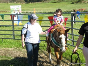 Pony rides at Heaven Hill Farm
