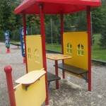 Great little tables for kids to sit and pretend