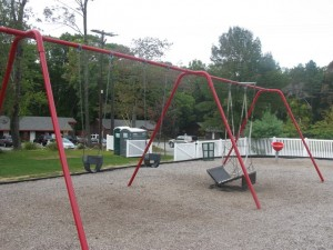 has Wheelchair swing
