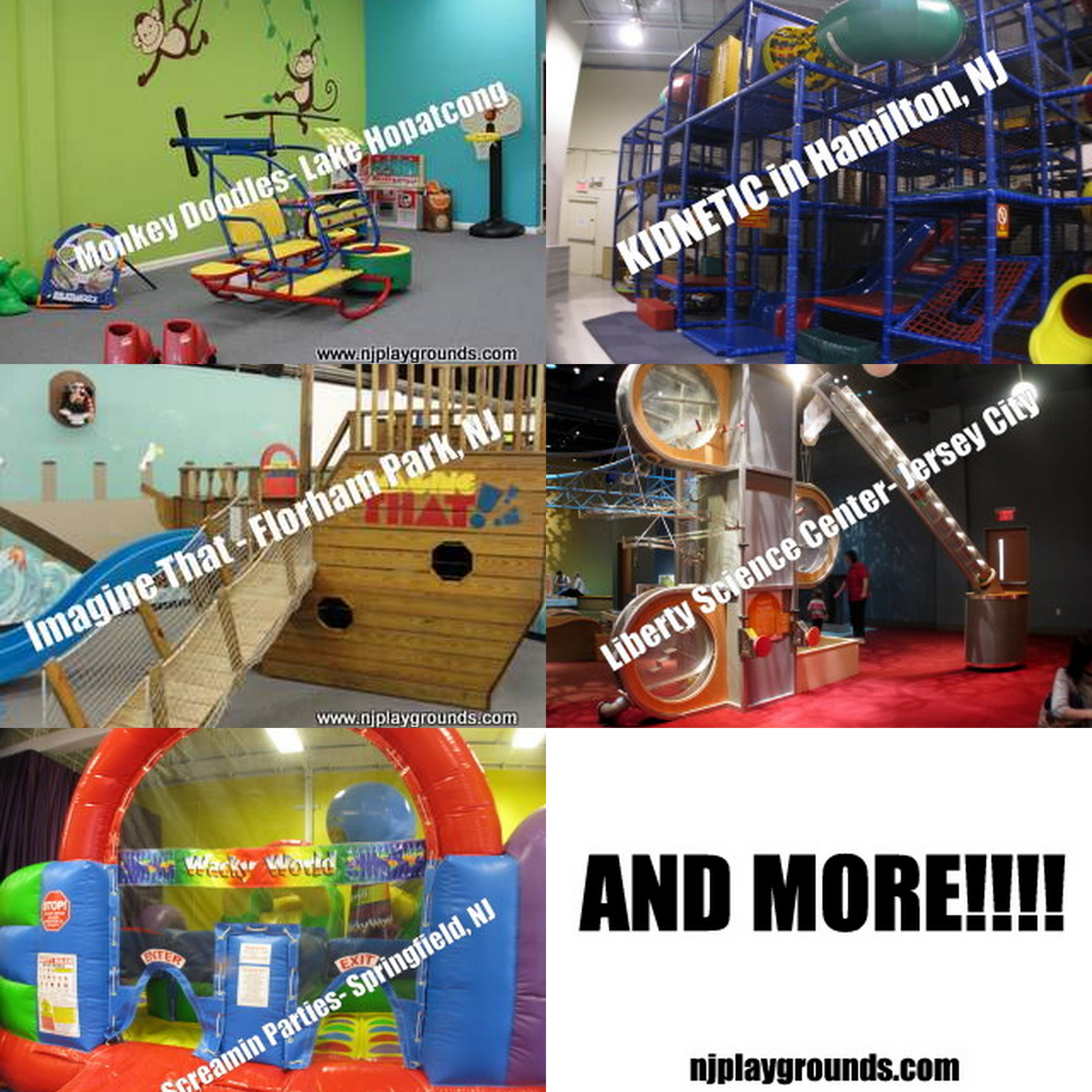 Indoor playspaces in NJ « Your complete guide to NJ Playgrounds