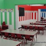Newly Painted Party Rooms