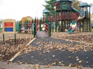 Warren's Municipal Playground- ADA compliant