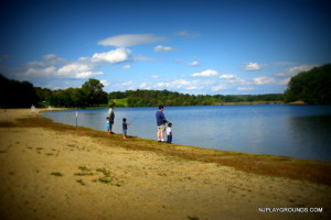 Fishing with the boys at Round Valley 2009
