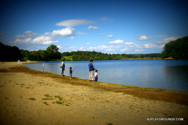 Round valley state park your complete guide to nj for Fishing lakes in nj