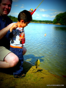 Matt caught his first fish at Round Valley. *sigh* He is 7 now.  Love that boy!