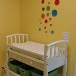 8. Comfy changing table