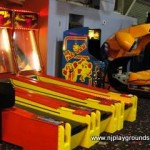 Skeeball and good 'ole Pacman!
