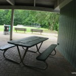 Sheltered Picnic Table