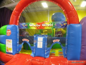 wacky world obstacle course screamin parties