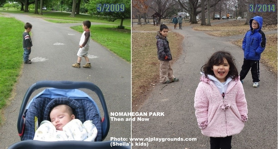 Nomahegan Park- 2009 and 2014