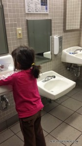 Low sink for toddlers