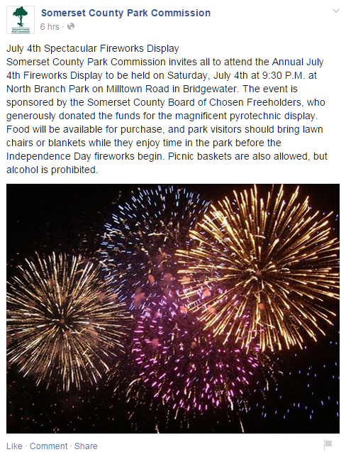 fb somerset county park