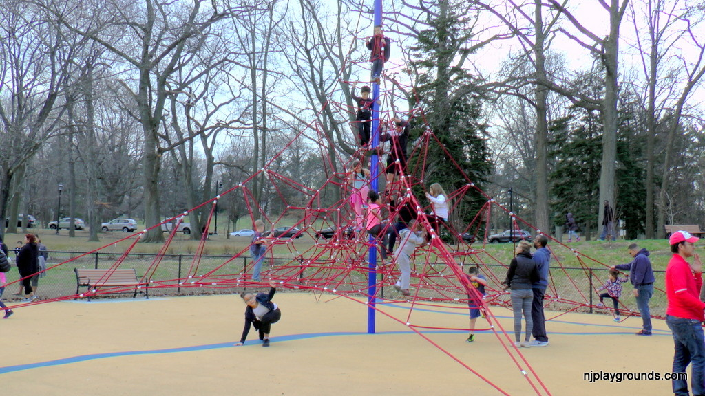 Giant Spider Web Climbing Structure