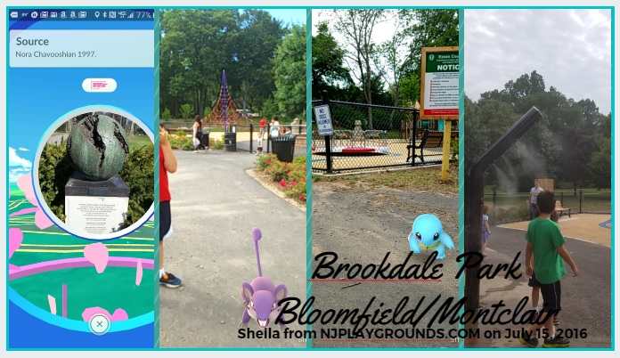 brookdale park montclair pokemon go