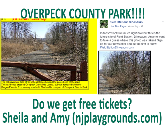 Field Station Dinosaurs move to Overpeck County Park « Your complete