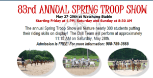 83rd Annual Horse Show (troop) Watchung Stables @ Watchung Stables | Mountainside | New Jersey | United States
