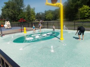 Sara's Picture of Sprayground at Snyder Ave. Park