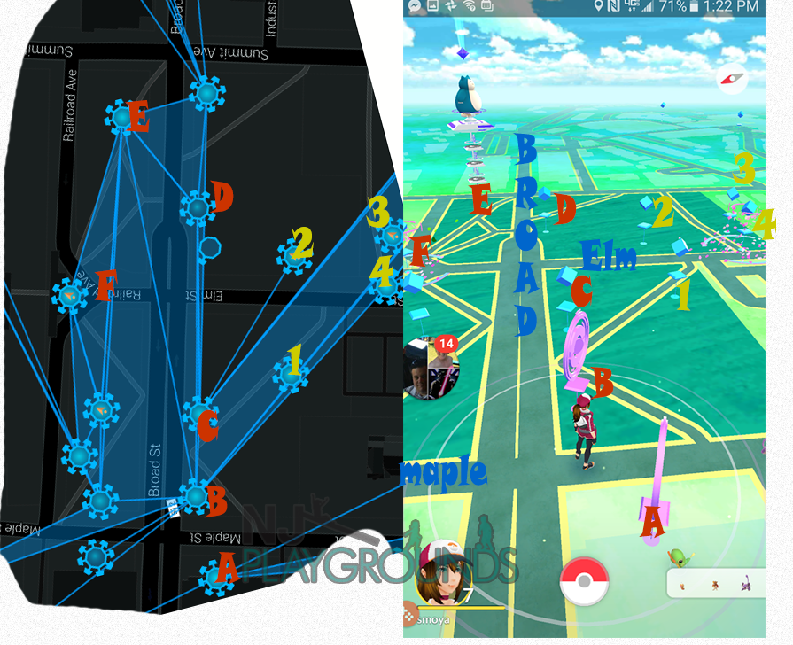 Pokemon Go New Jersey Map Ingress Maps as a tool for Pokemon Go « Your complete guide to NJ