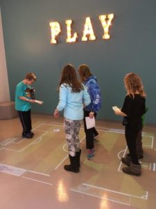 Interactive floor games are a great way to keep the kids busy. Different modules keep the kids interested.