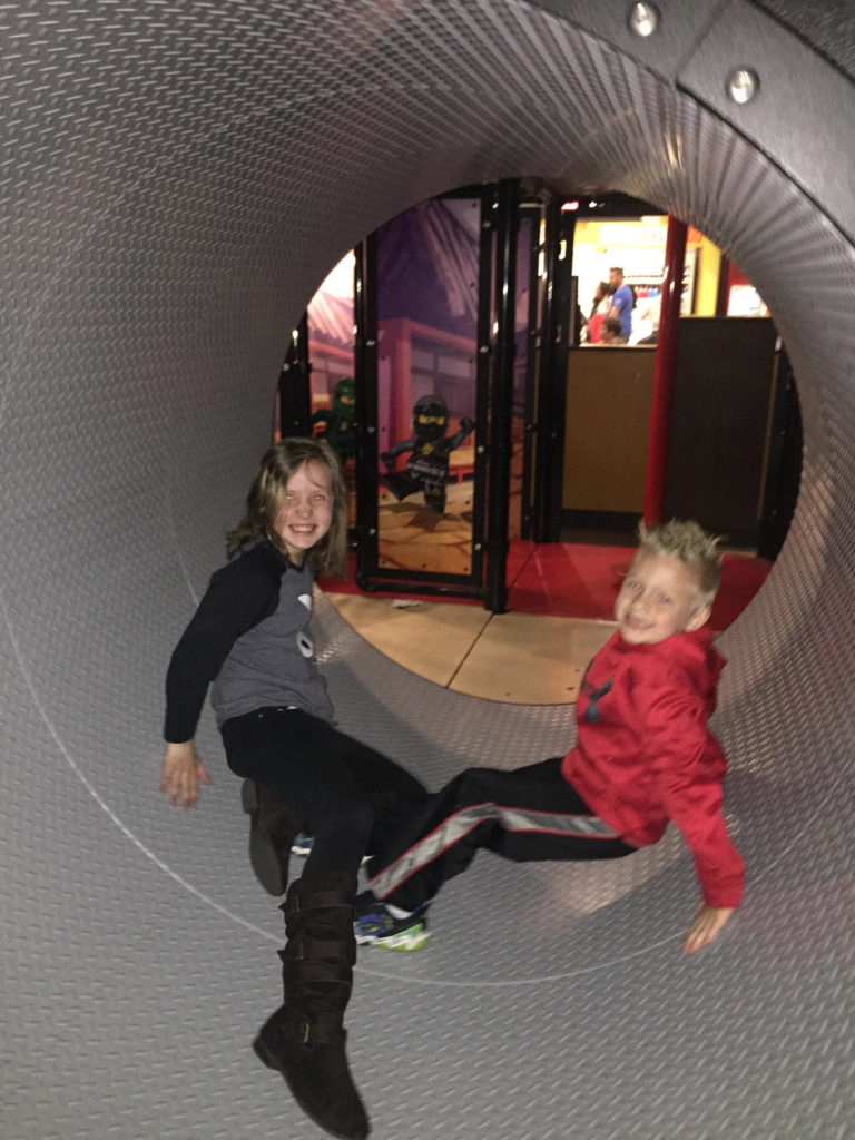 Moving Hamster Wheel at Legoland Discovery Center at Westchester